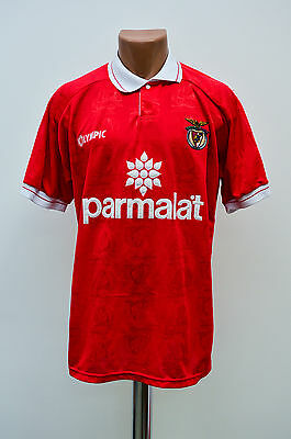 Benfica Portugal 1995/1996 Home Football Shirt Jersey Camiseta Olympic Vintage