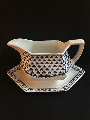 ADAMS BRENTWOOD EMPRESS Ironstone Gravy Boat, Excellent Condition,