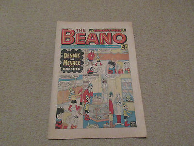 THE CHRISTMAS BEANO FROM 1975, No 1744- Dec 20th 1975-very good condition