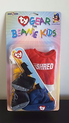 New Ty Gear Beanie Kids Snowboarder -  9 Available