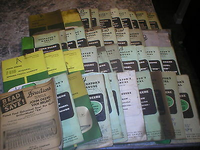 John Deere Owner's Operator's Manual  LOT of 40 #8