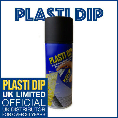 PlastiDip - Plasti Dip / Rubber Paint - Black Spray Aerosol 311g (371ml)