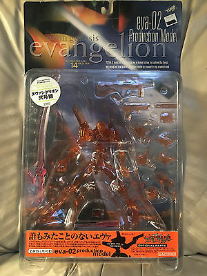 NEON GENESIS EVANGELION Eva-02 Production Model CLEAR NEW Kaiyodo action figure