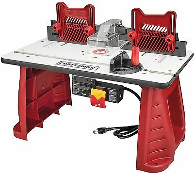 "Craftsman Router Combo Table Extended Multi-Functional 2 1/4"" Dust Extraction"
