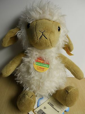 Authentic Steiff Cosy Friends Stuffed Lamb Sheep Rare Retired 110061