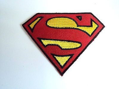 1x Superman DC Patch Embroidered Cloth Patches Applique Badge Iron Sew On