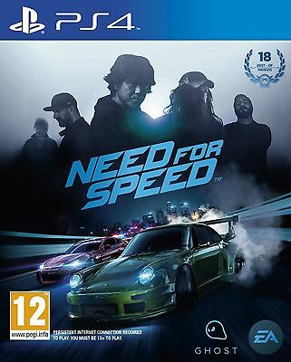 Need For Speed NFS 2015 PS4 Brand New *DISPATCHED FROM BRISBANE*