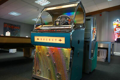 Genuine Vinyl  FULL SIZE Legendary Sound Leisure Rocket 88 Jukebox 50's Style