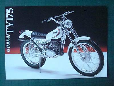 YAMAHA TY175 - Motorcycle Sales/Specifications Sheet - c1980 - #0107300