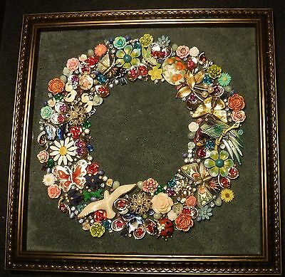 Jewelry Circle of Life,full of Animals, & Color, one of a Kind, Signed by Artist