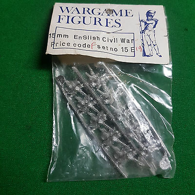 Wargame Figures 15mm English Civil War Set 15E19