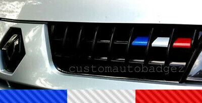 Renault Clio 172 182 French Flag Grille Vinyl Stickers Trophy 2.0 Renaultsport