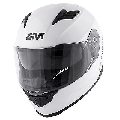 4d45d0e392b Givi Collection 2017 Full Face Helmet 50.5 Tridon Bianco Lucido   White  Gloss