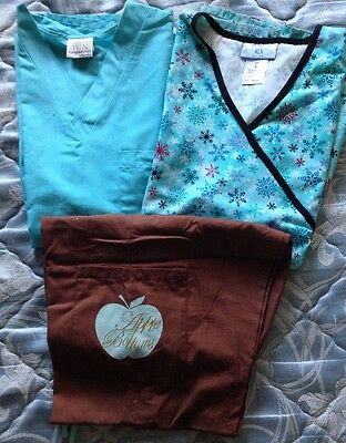 Lot Of Scrubs 2 Tops And 1 Pant Size S