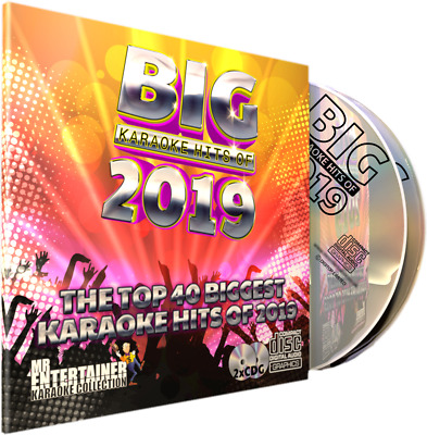 Mr Entertainer BIG Karaoke Hits of 2017. Double CD+G/CDG Disc Set. Top 40 Chart