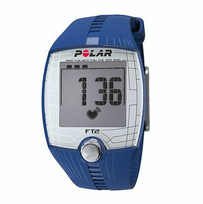 Polar Heart Rate Monitor FT2 Nero - Blue Color