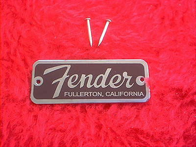American Made, A Direct Replacement Fender Tweed Champ Script Letters Amp Logo