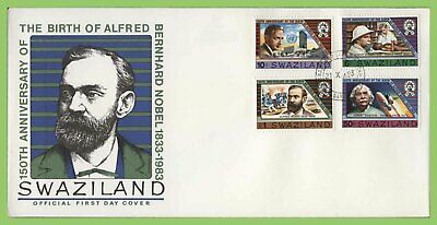 Swaziland 1983 Bernhard Nobel set on First Day Cover