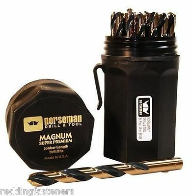 44170 Norseman / Viking SP-29P 29 Piece Drill Bit Set USA Jobber Length Set NEW