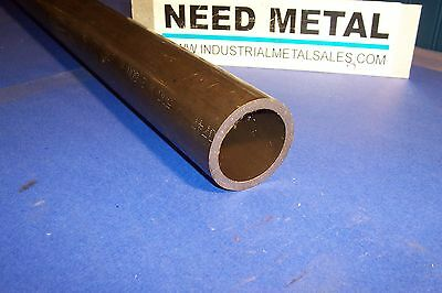 "DOM Steel Round Tube Seamless 2 1/2"" OD x 6""-Long x 1/4""Wall-->2.5"" OD x .250""w"