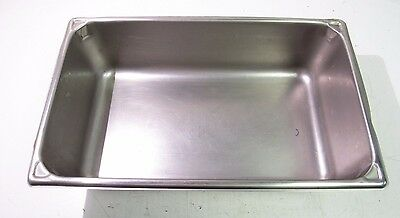 "21""x13""x6"" Stainless Steel Steam Table Baking Rectangle Pan 21 Qt Full Size*xlnt"