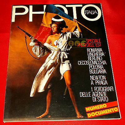 PHOTO ITALIA N. 178 1990 Speciale Paesi dell'Est, Newton a Praga