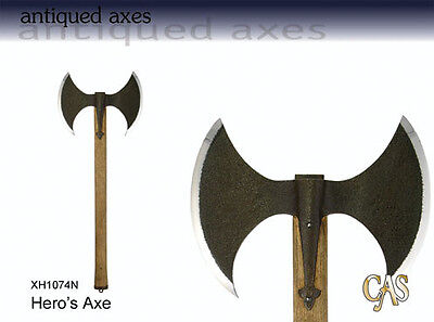 Hero's Double Head War Axe, Based on Tyrion Lannister's Axe, Game of Thrones