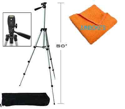 Full Size 50-inch Tripod W/Leveler Adjust & Carrying Case for SLR Cameras