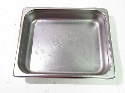 "13""x10-1/2""x2-1/2"" Stainless Steel Steam Table Baking Pan Half Size *xlnt*"