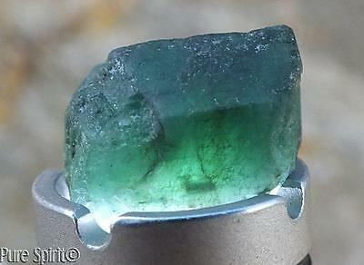 Emerald Crystal High Grade Brazilian Mineral Raw Facet Rough Double Terminated