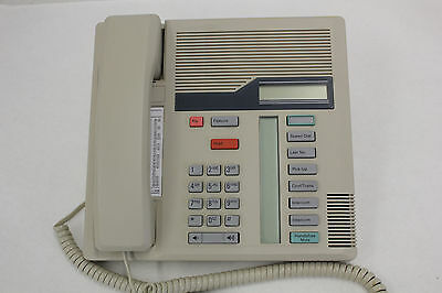 Nortel Norstar M7208 Meridian Ash Display Phone NT8B30 - Refurbished A-Stock