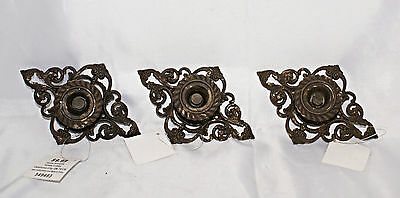 Cast Iron Drawer Handle LOT of 3 Vintage Look Ornate Hobby Lobby Cabinet Rustic