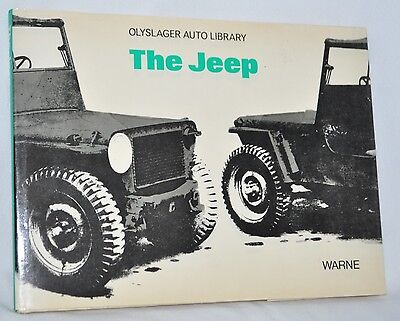 The Jeep Book Olyslager Automotive Library WW2 Truck 4WD Wartime Vehicle History