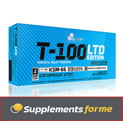 Olimp T-100 LTD Limited Edition Strong Male Testosterone Booster 30-120Caps