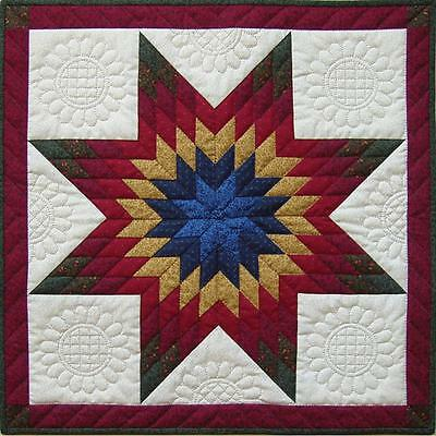 "RACHEL'S OF GREENFIELD ""LONE STAR WALL QUILT KIT"" - FINISHED SIZE 22"" x 22"""