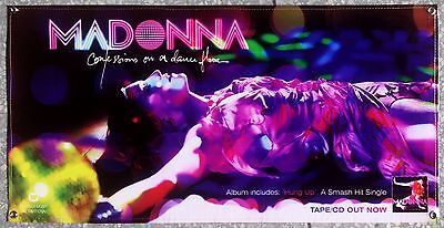 """MADONNA """"Confessions on a dance floor"""" Vinyl Banner (100 x 50) HUNG UP Promo"""