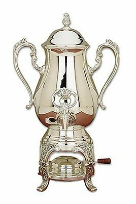 NDB-Reed & Barton Sheffield Collection 25-Cup Silverplated Burgundy Coffee Urn