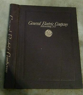 Vintage GE General Electric Company Schenectady NY Folder