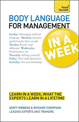 Teach Yourself Body Language for Management in a Week, Good Condition Book, Thom