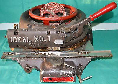Ideal Model 1 Stencil Cutting Machine Press Punch