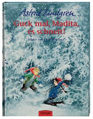 Children's Book Guck Mal , Madita, ES Snowing Astrid Lindgren for Since 4 J