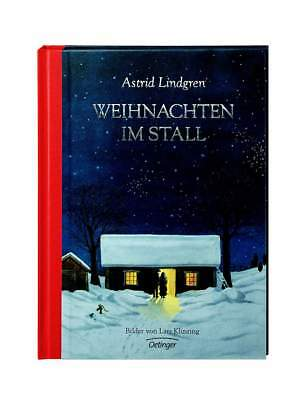 Children's book Christmas in Stall by Astrid Lindgren for children from 4 years