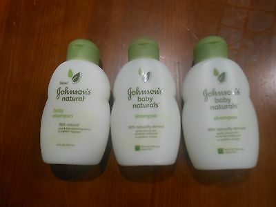 Johnsons Natural Baby Shampoo 10 Ounce Pack of 3