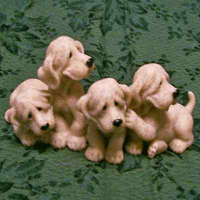 Quarry Critters Bloodhound Puppy Dogs Puzzled MIB New Second Nature Design
