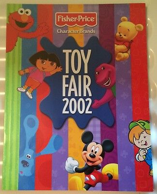 2002 Fisher Price Character Brands Catalog Toy Fair 2002, MINT