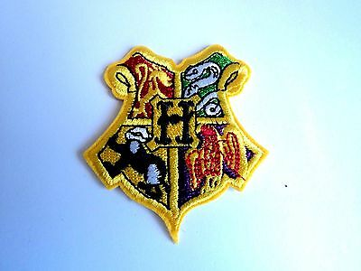 1x Harry Potter Hogwarts Patches Embroidered Cloth Applique Badge Iron Sew On