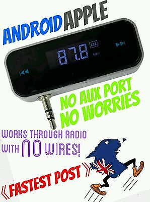 Fm transmitter For Car Radio Aux Wireless android apple iphone TEMP OUT OF STOCK
