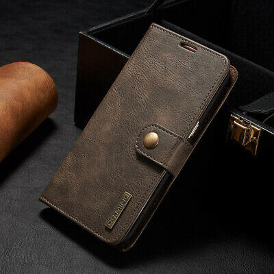 Genuine Vintage Leather Wallet Case Cover For Samsung Galaxy S7/S8/A3/A5/J7 S003