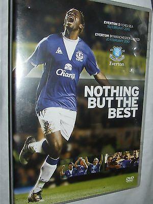 Everton Vs Manchester United / Chelsea - 2010 Nothing But The Best DVD