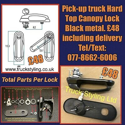 Pick-up truck Hard Top Canopy Lock & 2 Keys